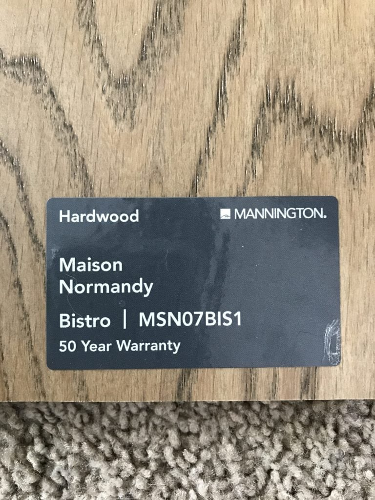 Mannington Hardwood Maison Normandy Bistro Floors