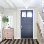A Simple Entryway Update: Painted Interior Door Makeover