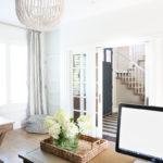 Office Reveal & White Oak Hardwood Floors