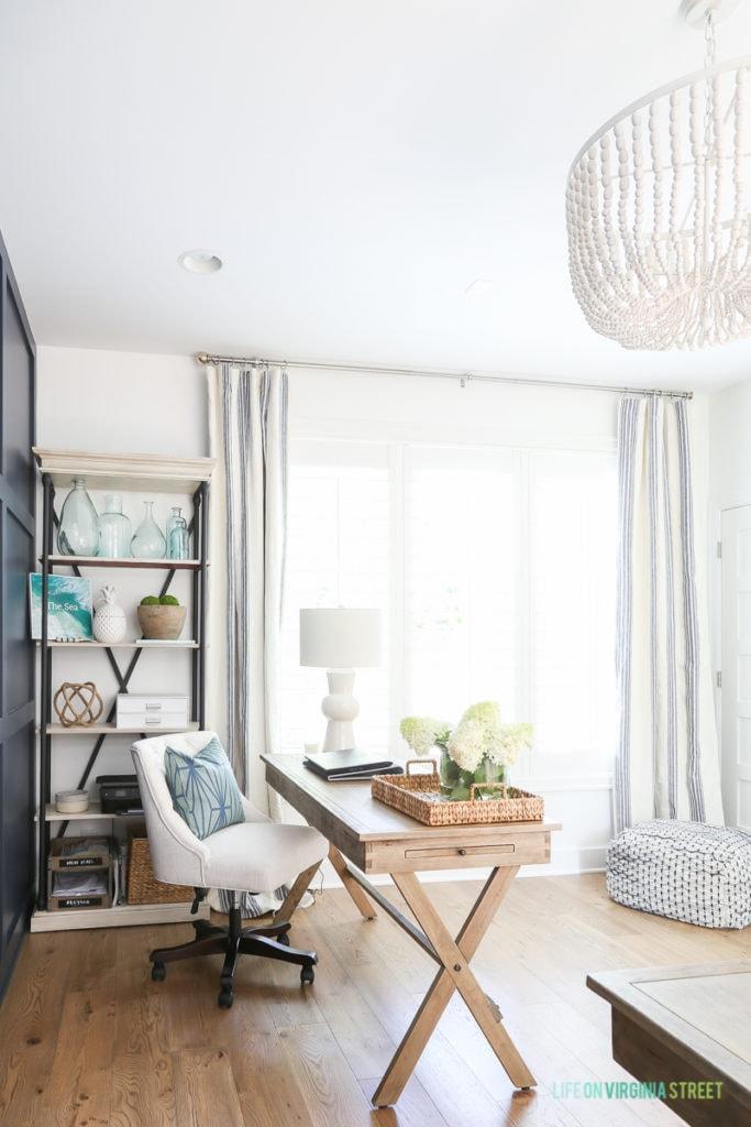 Office Reveal Amp White Oak Hardwood Floors Life On