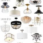 Stylish Flush Mount Light Fixtures