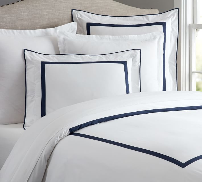Morgan Duvet Cover and Shams in Twilight