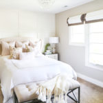 A Blush-Toned Fall Guest Bedroom & Why I Make My Own Pillows