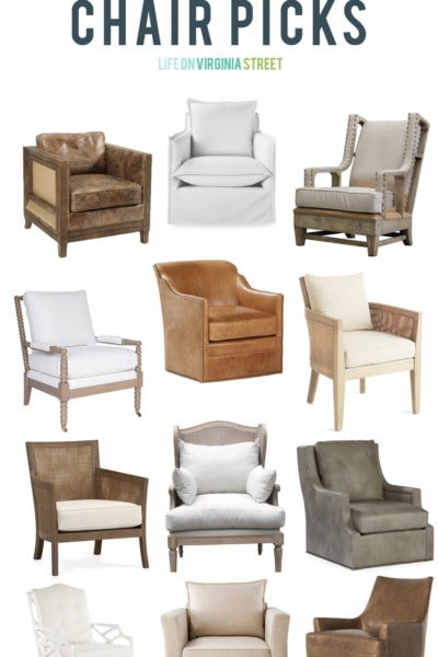 The Hunt for Living Room Chairs