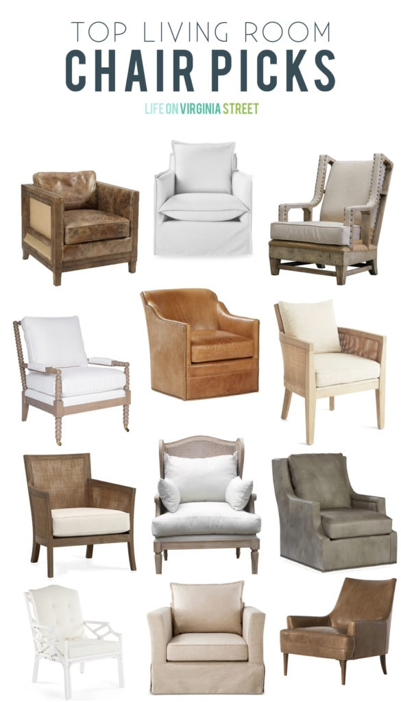 Looking For Living Room Chairs | Life On Virginia Street