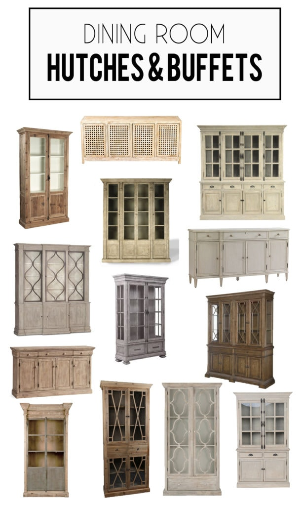 A Gorgeous Collection Of Wood And Reclaimed Dining Room Hutch Buffets