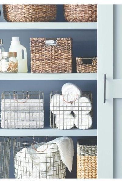 Decorative Baskets to Help Keep You Organized
