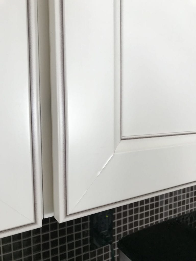 bubbling thermofoil cabinets