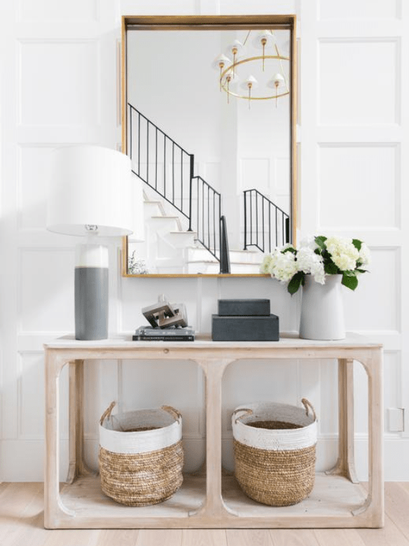 Entryway via McGee & Co.