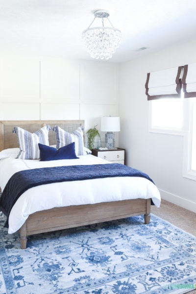 Coastal Guest Bedroom Progress