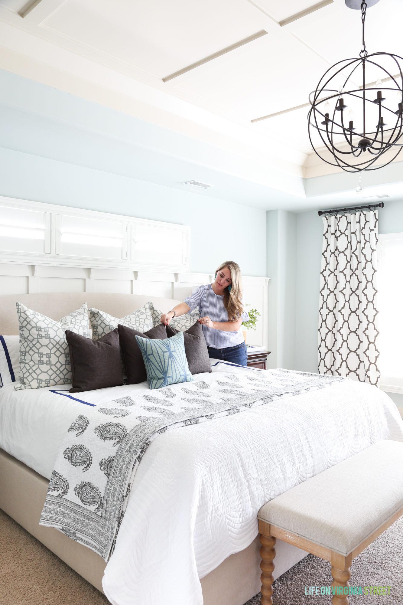 Spring Master Bedroom - Life On Virginia Street