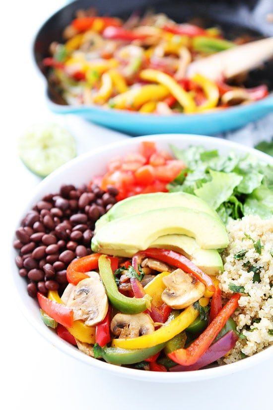 Fajita Quinoa Bowl Recipe
