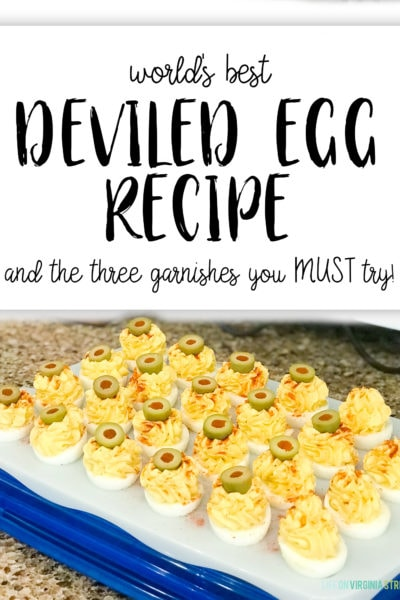Best Deviled Egg Recipe + And the 3 Garnishes You Need to Try
