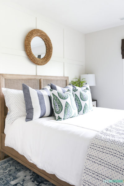 Guest Bedroom Summer Updates