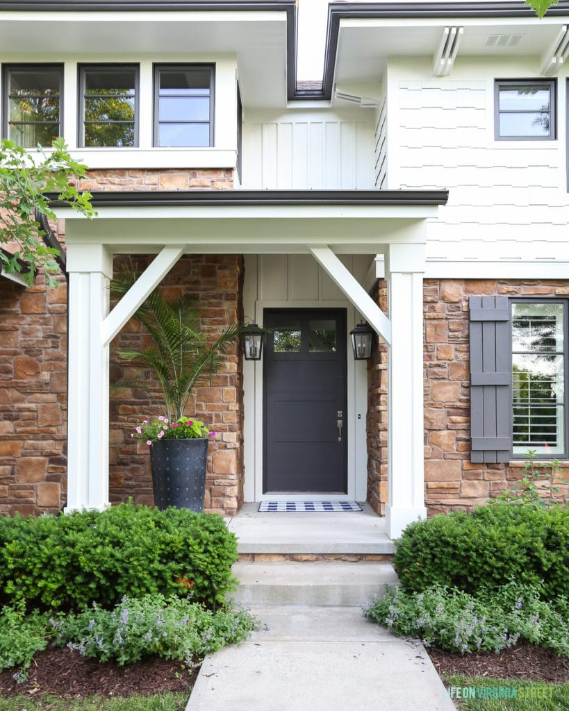 Benjamin Moore White Dove House Exterior Reveal Life On Virginia Street