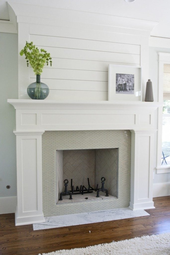 Shaker style fireplace ideas our plans life on for Shaker style house plans