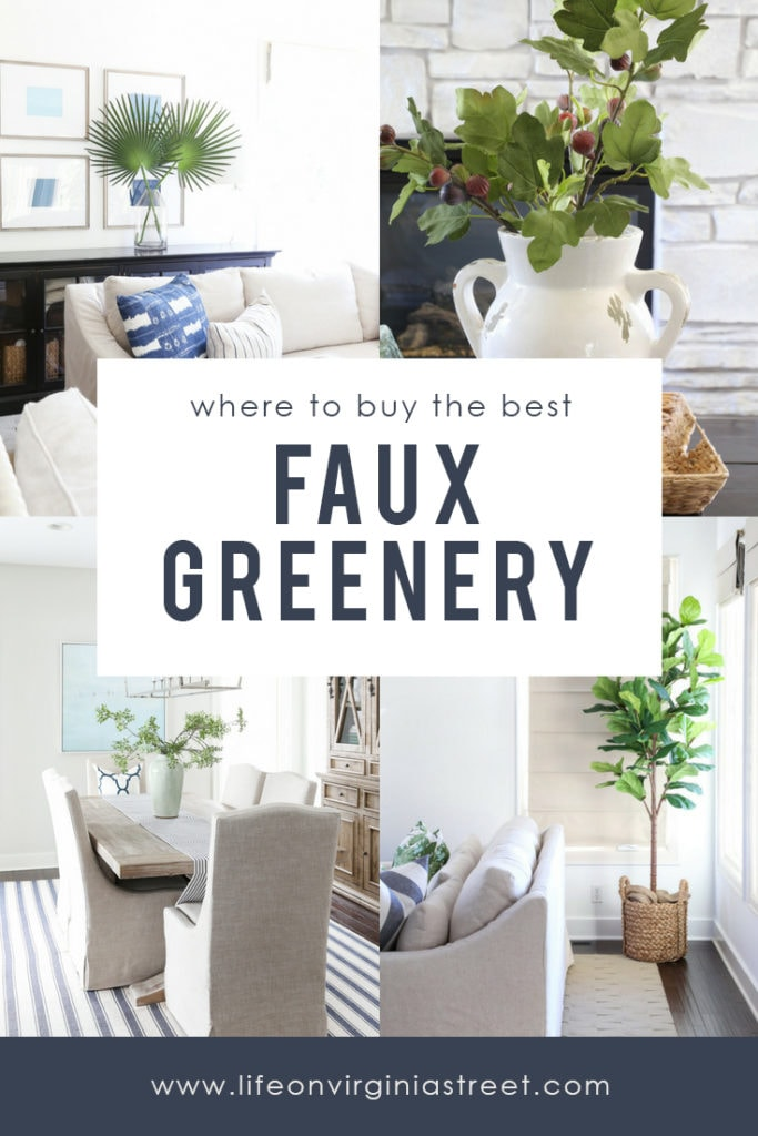 Excellent tips and tricks on the best fake plants. Learn where to buy the best faux greenery, florals and plans and things to look for when purchasing!