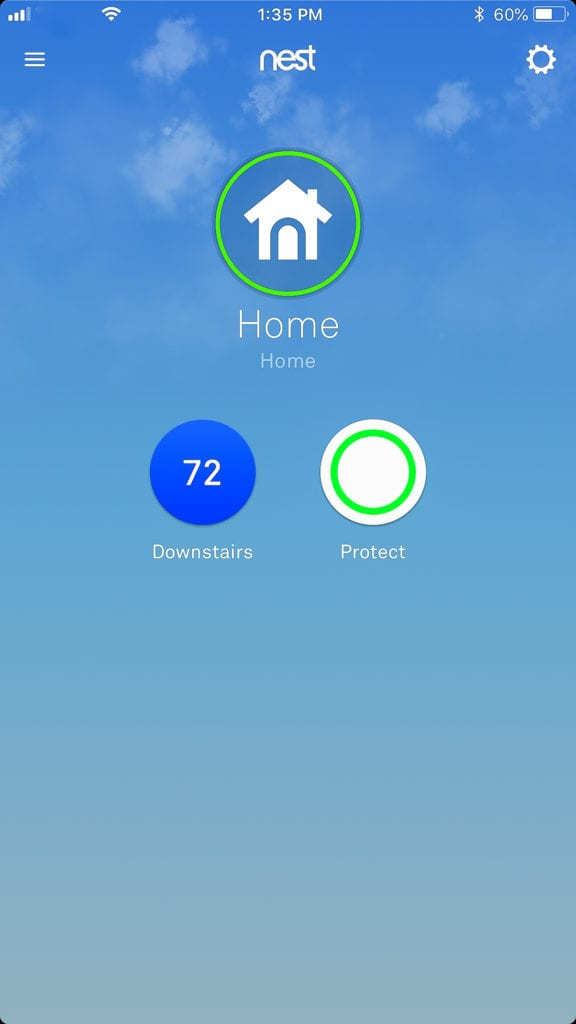The Nest App for your phone.