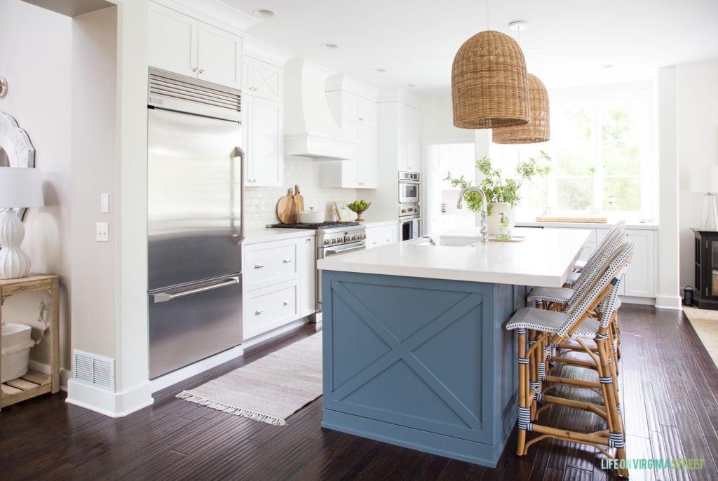 Coastal Kitchen Reveal - Life On Virginia Street