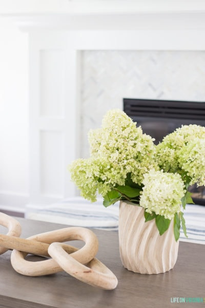 Shaker Style Fireplace Reveal & Living Room Updates