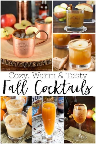 20 Delicious Fall Cocktails