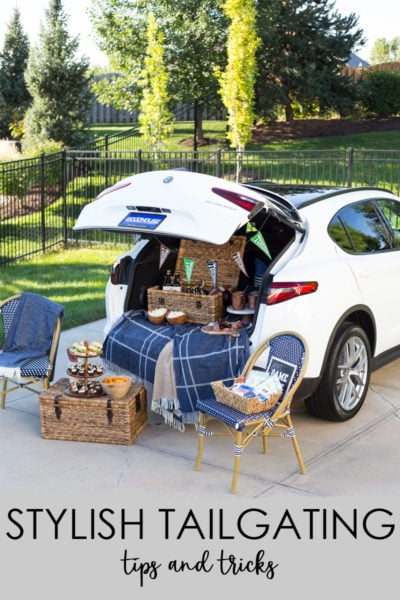 Stylish Tailgating Ideas and Tips