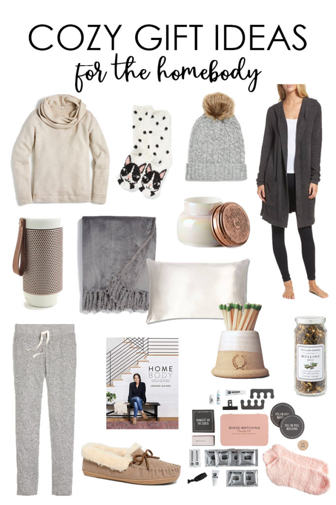 A collection of cozy gift ideas for the homebody or anyone that loves to me comfy at home! So many great finds and gift ideas!