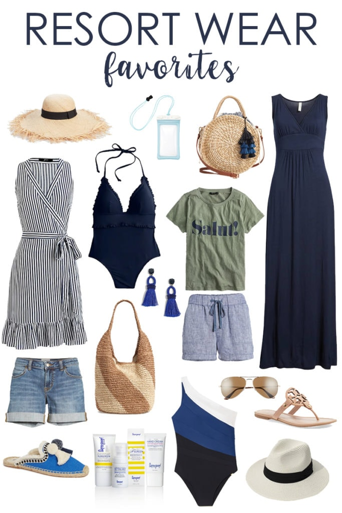 Loving all of these resort wear favorites that are perfect for a beach vacation or spring break! So many cute bathing suits, cover-ups, sundresses, sandals, and more!