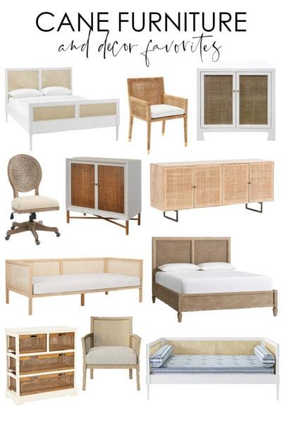 Cane Furniture & Decor Favorites