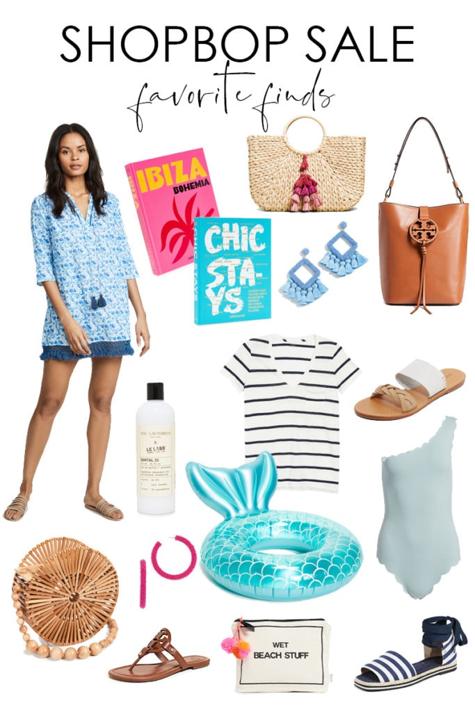 Spring and summer inspired picks from the ShopBop sale. Includes tons of cute finds along with tips for shopping the sale most effectively!