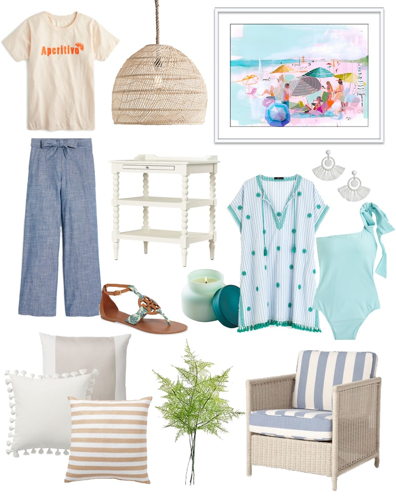 A spring-inspired collection of the best Easter weekend sales! Loving the coastal vibe in this collection of clothing and home decor!