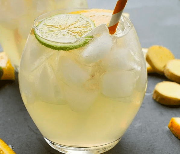 White Wine And Ginger Beer Sangria