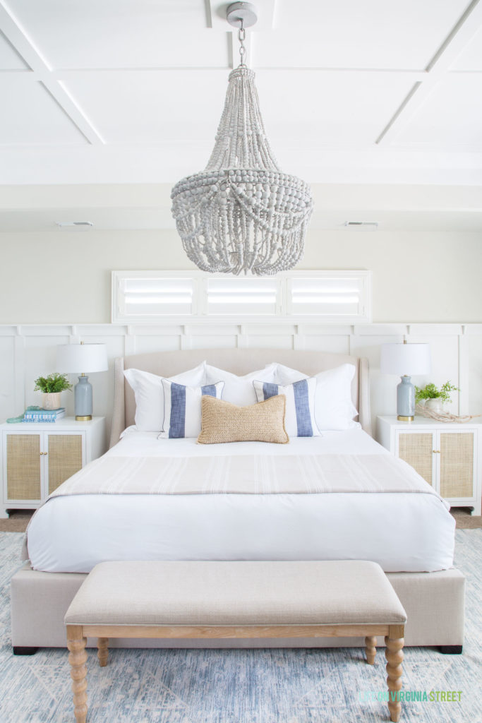 The Luxe Lifestyle Master Bedroom Reveal: Natural And Organic Master Bedroom Reveal