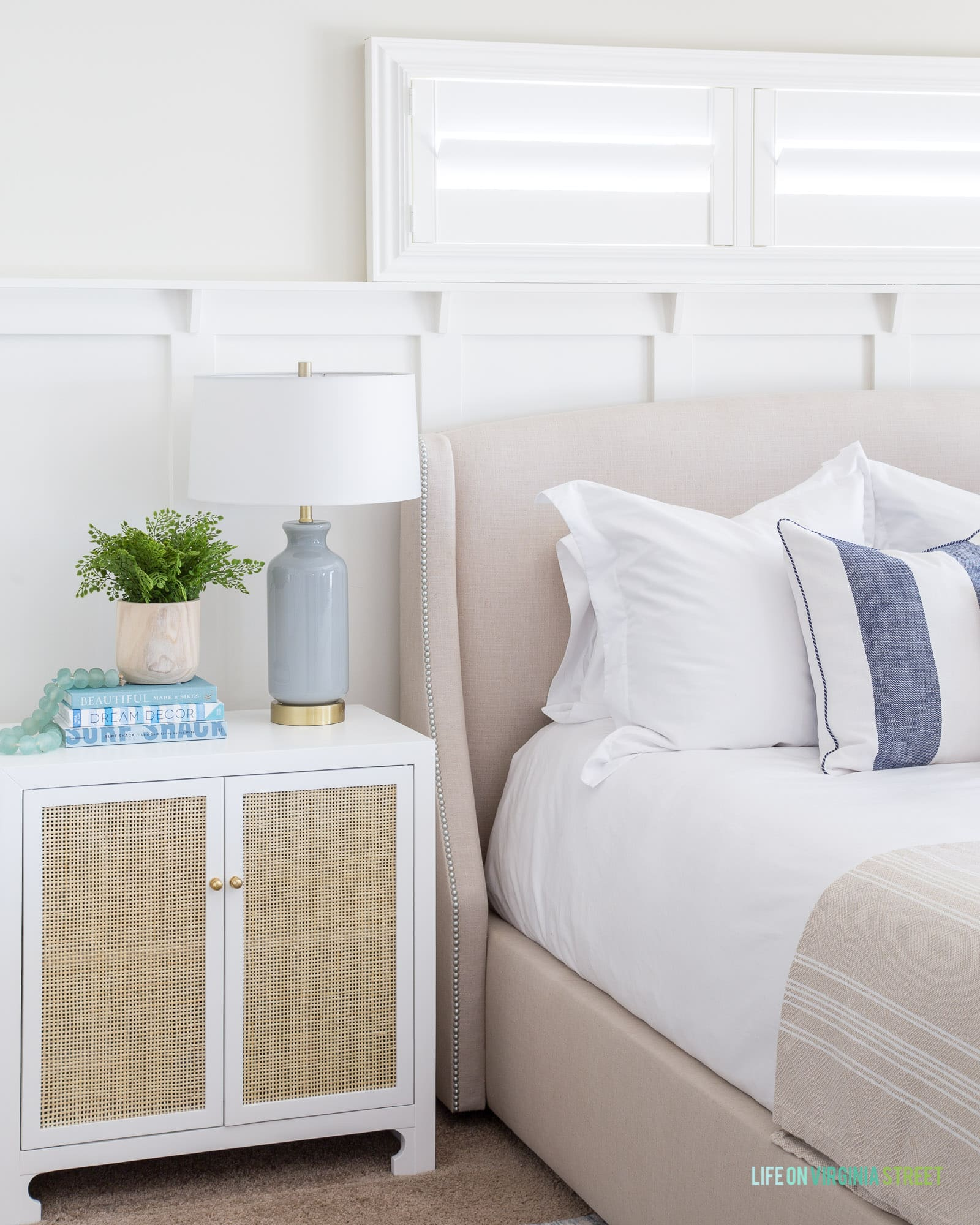 Natural And Organic Master Bedroom Reveal Life On Virginia Street