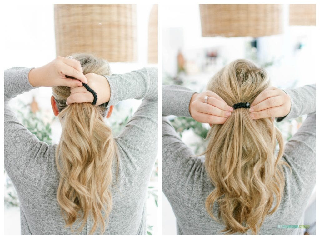 These silk hair ties are some of my cozy fall favorites!