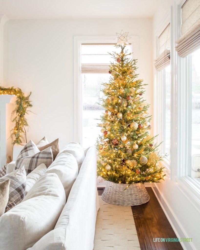 Christmas Tree Collar Ideas Picks Life On Virginia Street