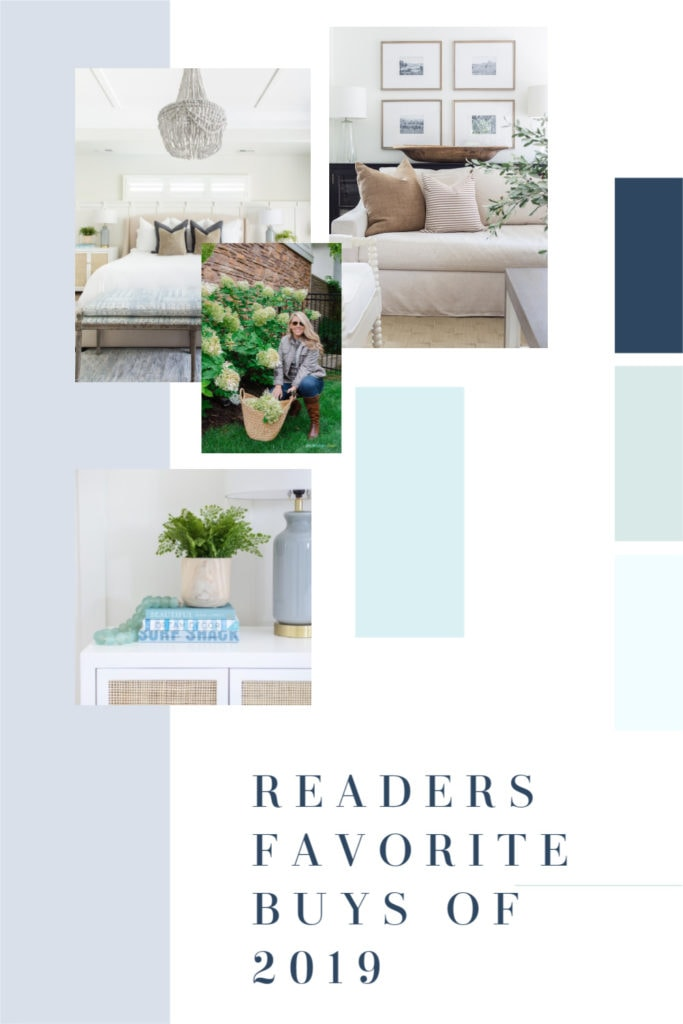 Readers Favorite Buys of 2019 from Life On Virginia Street. Includes a great mix of home decor and fashion favorites!