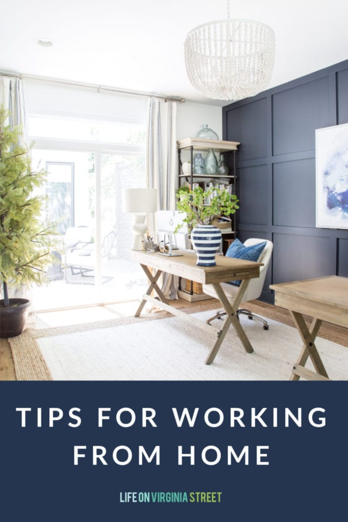 Sharing my top tips for working from home, and how to be more productive while doing so!
