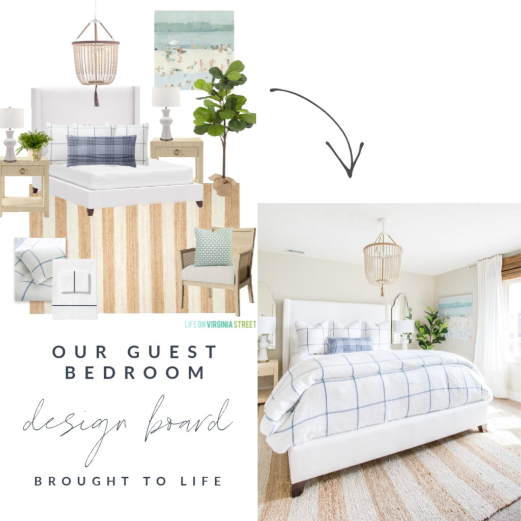 A step-by-step tutorial to show how to make a design board and then transform it into an actual room design!