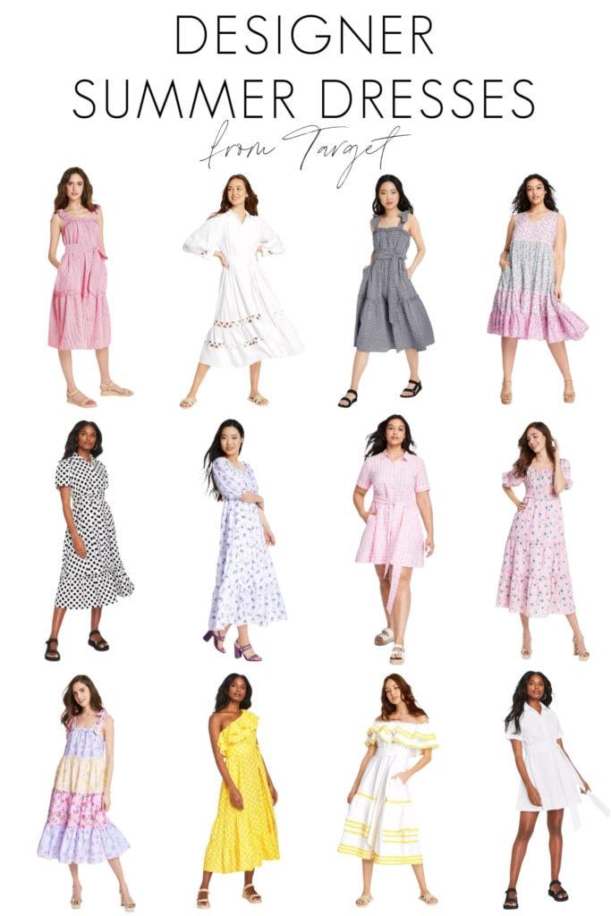 New Designer Summer Dresses at Target