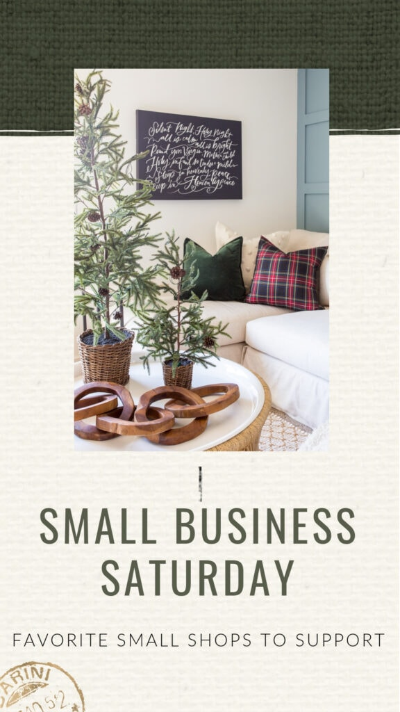 Small businesses to shop and support on Small Business Saturday!