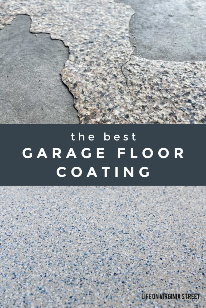 Details on the best garage floor coating, and why you should consider polyaspartic floors instead of epoxy garage floors!