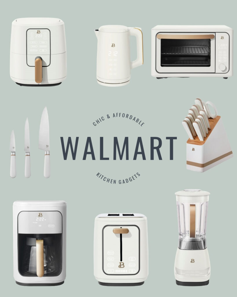Chic and affordable Walmart kitchen gadgets from the new Drew Barrymore Beautiful line!