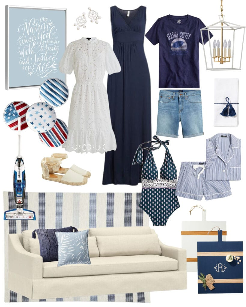 Top picks from The Best 2021 Memorial Day Weekend Sales! Includes home decor and fashion for women, all with a coastal flair!