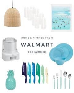 Walmart Home Finds for Summer