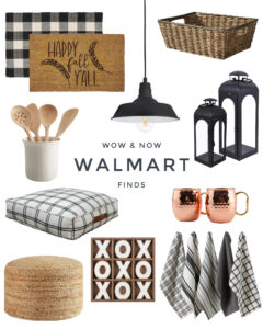 Walmart's Wow & Now Home Decor Section